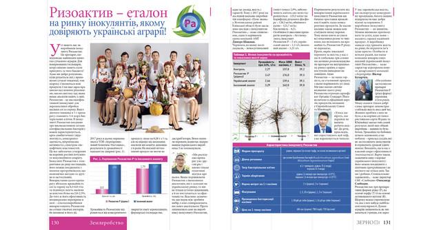 Ризоактив - еталон на ринку інокулянтів, якому довіряють українські аграрії!