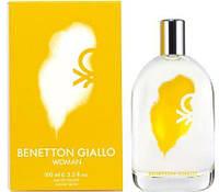 Женская туалетная вода Benetton Giallo Woman  100мл оригинал