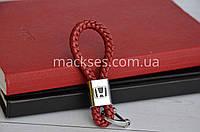 Брелок кожаный Mackses Honda Бордовый