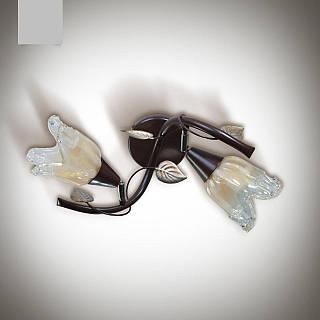 Люстра для спальни, для прихожей, 2 ламповая 1002-1
