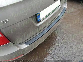 Защитная накладка на задний бампер Skoda Superb 2008-2015 Combi