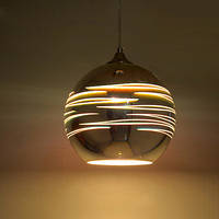 Подвесной светильник 3D эффект круглый LASER Horoz Electric 40w