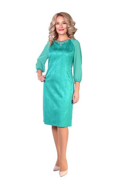 Нарядное женское платье больших размеров. - Оптово-розничный интернет-магазин  Fashion Way