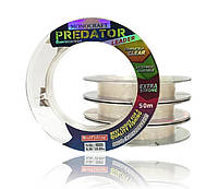 Леска флюорокарбон 100% Bratfishing Monocraft Fluorocarbon Predator Leader 50m 0.12 мм