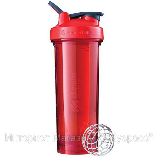 Blender Bottle, Спортивный шейкер-бутылка BlenderBottle PRO32 Red, 900 мл
