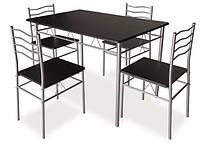 Стіл з 4-ма стільцями Esprit