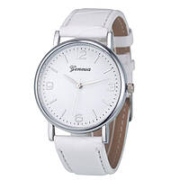 Часы наручные Geneva Classic White