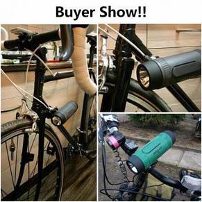 Zealot s1 велоколонка 3в1 c фонариком вело блютус колонка bluetooth для велосипеда мотоцикла скутера, фото 2