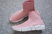 Женские кроссовки в стиле Balenciaga Italy Dark Pink размер 40