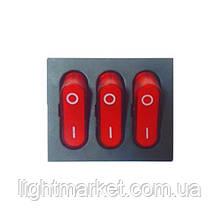 Кнопка 3 Клавиши 9 Контактов GY-2025-7