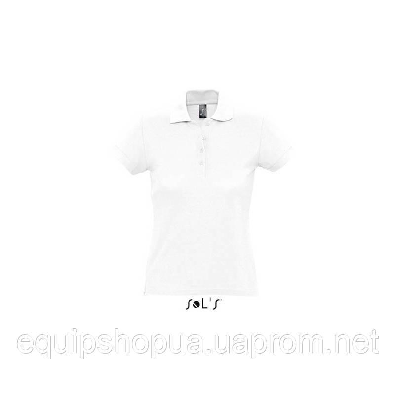 Рубашка поло SOL'S PASSION-11338 Белый, M