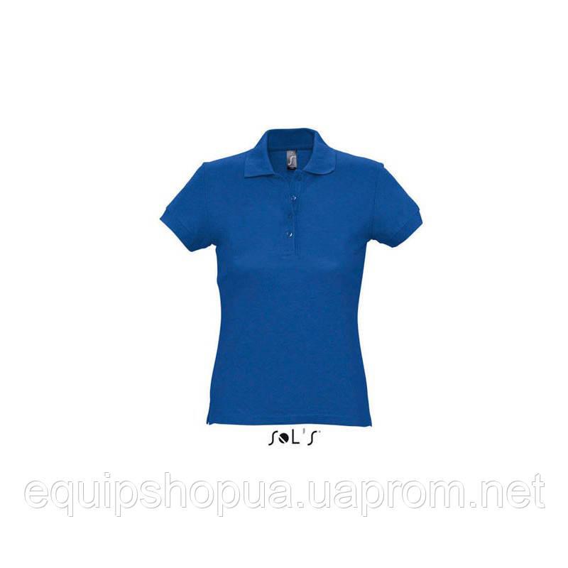 Рубашка поло SOL'S PASSION-11338 Синий, XL