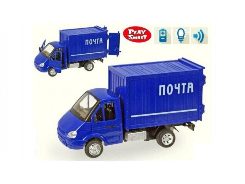 Машина инерционная музыкальная Газель 9077-D Почта
