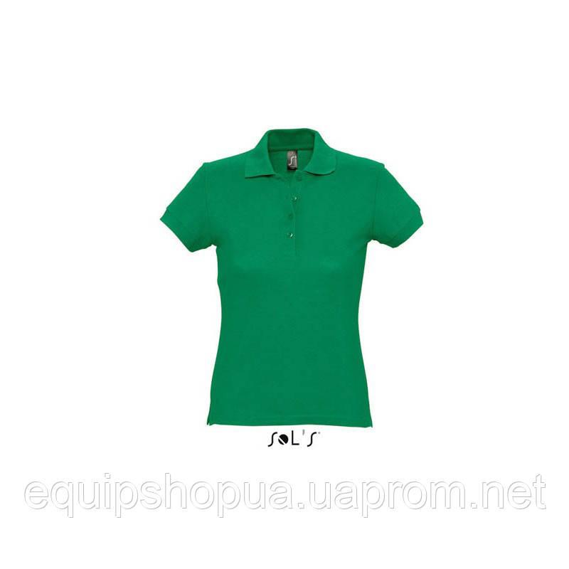 Рубашка поло SOL'S PASSION-11338 Зелёный, S