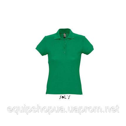 Рубашка поло SOL'S PASSION-11338 Зелёный, S, фото 2