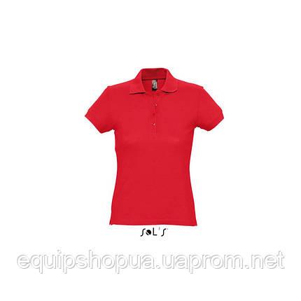 Рубашка поло SOL'S PASSION-11338 Красный, L, фото 2
