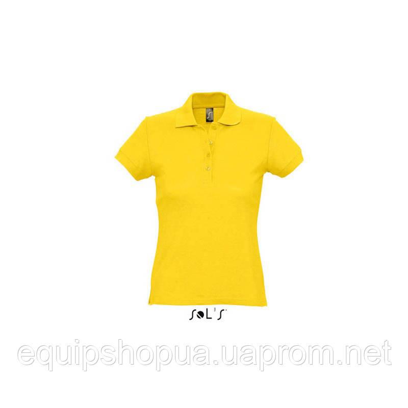 Рубашка поло SOL'S PASSION-11338 Жёлтый, L