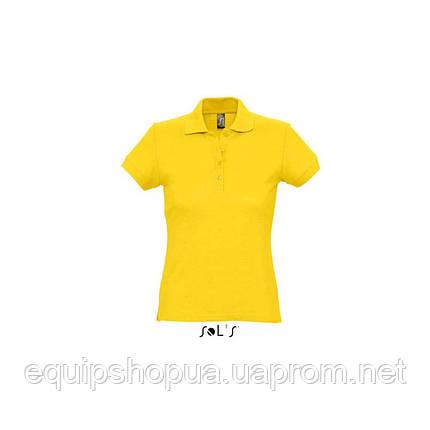 Рубашка поло SOL'S PASSION-11338 Жёлтый, L, фото 2