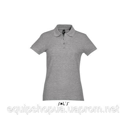 Рубашка поло SOL'S PASSION-11338 Серый, XXL, фото 2