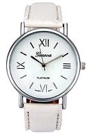 Часы наручные Geneva Platinum White