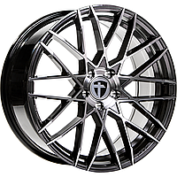 "Диски от Tomason ( Томасон ) модель TN19 цвет Dark Hyperback Polished параметры 8,5J x 19"" 5 x 112 ET45"