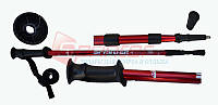 Палки для скандинавской ходьбы 110/135 см красные
