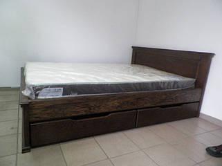 Кровати из цельного дерева