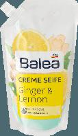 Жидкое крем - мыло Balea Имбирь и Лимон Balea Flüssigseife Ginger & Lemon Nachfüllpackung, 500 ml (запаска)