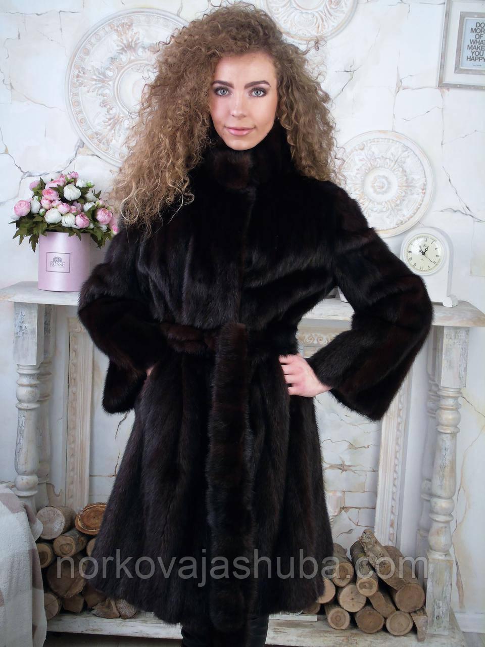 Норковая шуба маленького размера 42 44 S XS - Интернет-магазин FUR STAR в  Харькове 85187b4c527bc