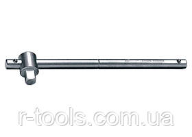 Вороток 200 мм квадрат 3/8 CrV хромированный MTX MASTER 139879