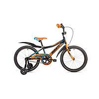 """Детский велосипед Avanti Spike 18"""" черно-оранжевый"""