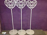 Свадебный декор: резные стойки для оформления, ажурные колоны, стойки для декора, фото 1