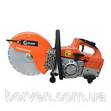Пила для різання бетону та бруківки бензинова LUMAG TS350G-PRO