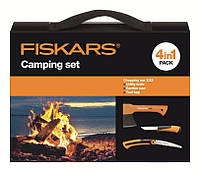 Набор подарочный Fiskars 1025439 (топор Х5xxs+пила 123870+нож+сумка)