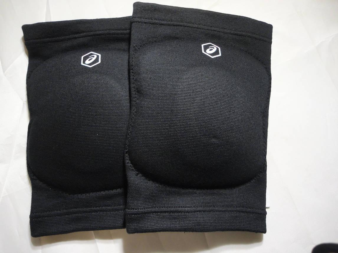 Волейбольные наколенники ASICS GEL KNEEPAD размер L чёрные , фото 2