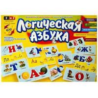 Розвиваючі пазли «Логічна Азбука» , російська мова DT66 Asp ФР-00002620