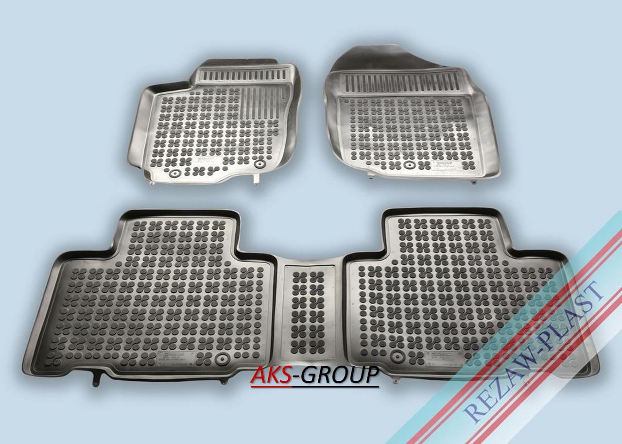 Ковры салона Toyota Rav4 IV, RAV4 Hybrida 2013-  Rezaw-Plast 201425
