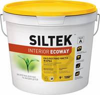 Латексная краска Siltek Interior Ecoway, База А (9 л.)
