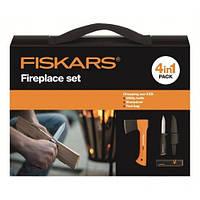 Набор подарочный Fiskars 1025441 (топор х5xxs + нож поплавок 125860 + точилка 120740 + сумка