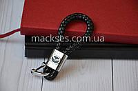 Брелок кожаный Mackses Mazda Черный