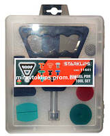 Набор инструмента и клеевых грибков для удаления вмятин без покраски, система PDR