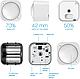 ZW100-C AEOTEC MultiSensor 6, датчик (рух, вологість, освітлення, УФ, температура, вібрація), фото 6