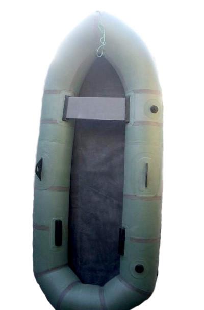 """Надувная резиновая лодка Лисичанка """"Дельфин"""", двухместная"""