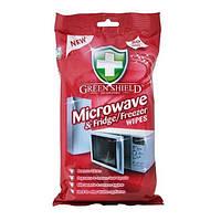 Green Shield алфетки для чистки микроволновой печи, холодильника 50 шт