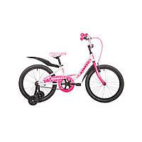 """Детский велосипед Avanti Princess 18"""" бело-розовый"""
