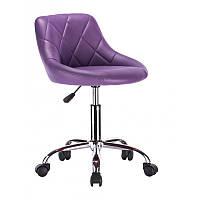 Кресло для салона красоты HC1054K  Фиолетовый