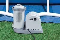 Фильтрующий насос Intex 56636 Filter Pump (производительность 5678 л|ч) + сменный фильтр киев