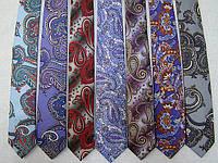 Узкий модный галстук