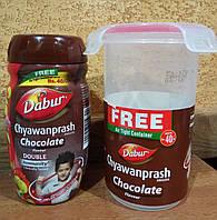 Чаванпраш Chocolate Dabur Индия + контейнер: укрепление иммунитета, защитные свойства организма,энергия! 450