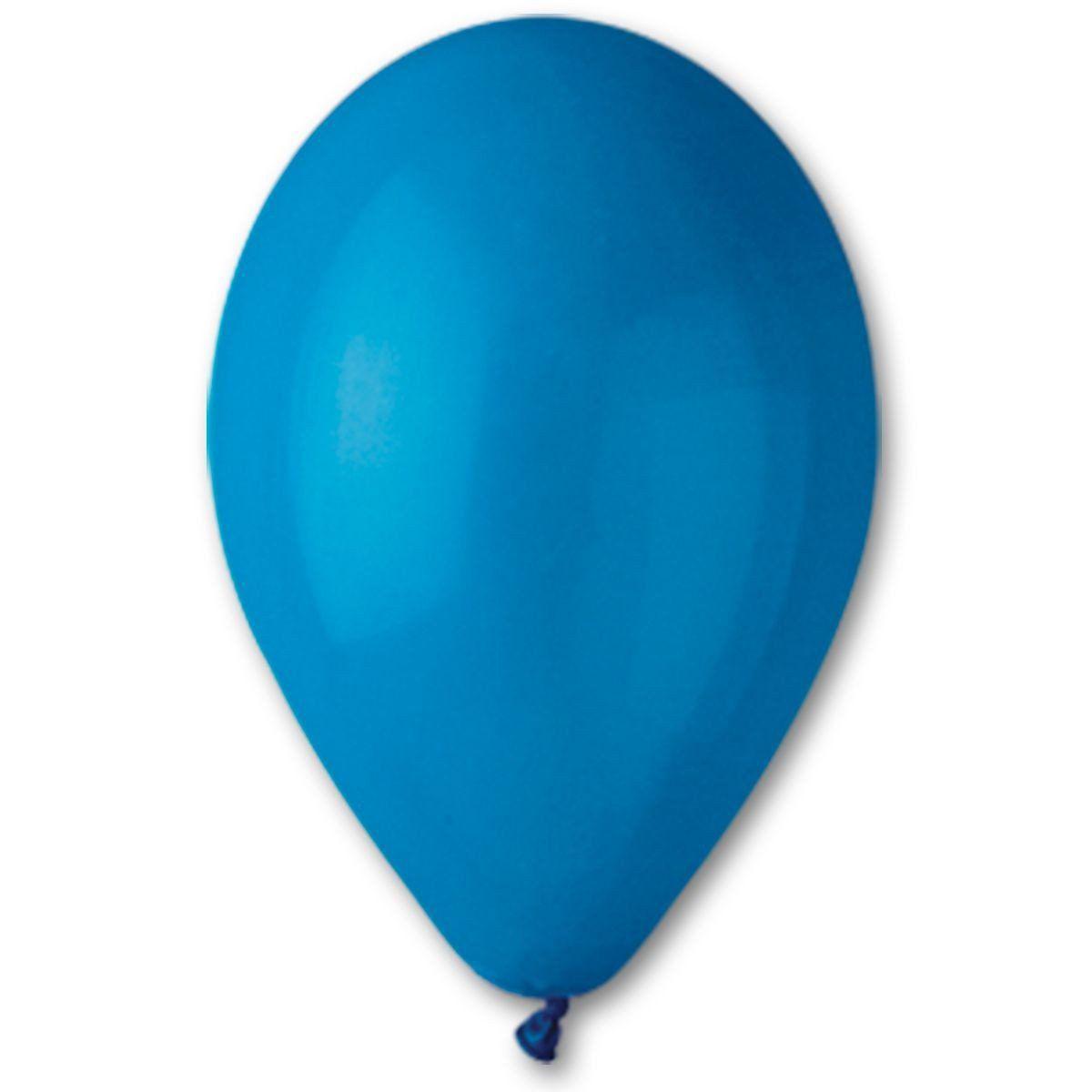 Шары 10′′(G90/10 Пастель синий) 100 шт